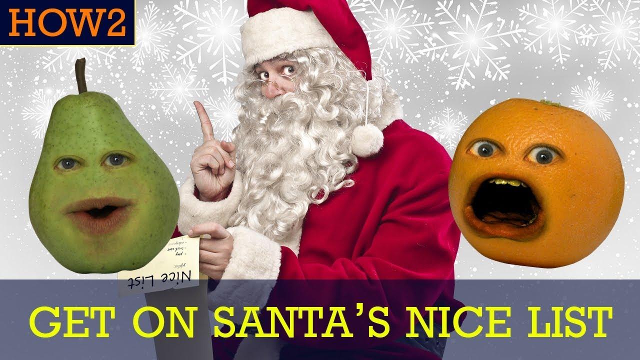 how2-how-to-get-on-santa-s-nice-list