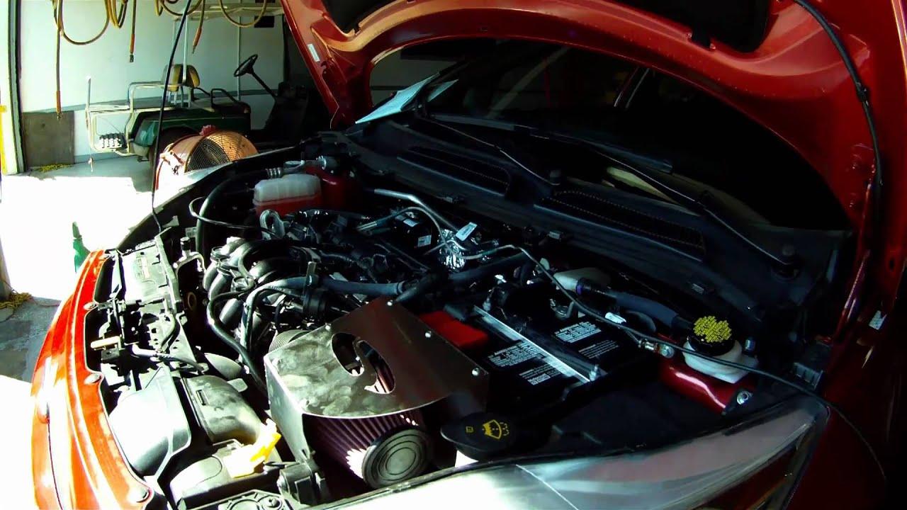 2011 Ford Fiesta Engine