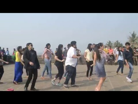 Flashmob Proposal at Bandra Fort, Mumbai