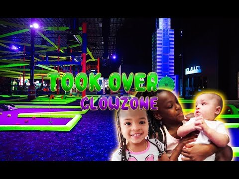 WE RENTED OUT GLOW ZONE (CRAZY FAMILY TRIP) | HEATHER AND TRELL