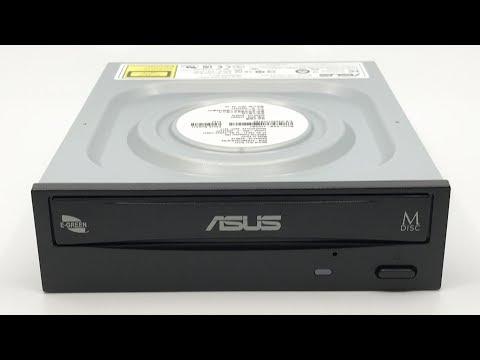 ASUS 24x Green DVD-Writer DRW-24D5MT【4K】