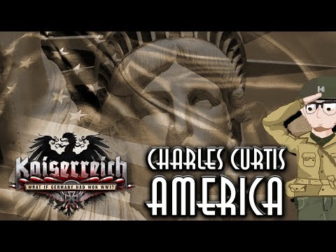 Hearts of Iron IV - Kaiserreich | Curtis America | #1 [Desperate Times]