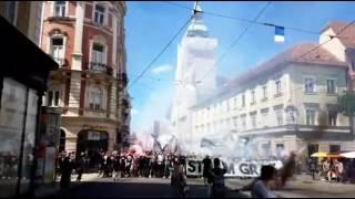 SK Sturm Graz Fanmarsch [vs. Admira Mödling] (Ultras Sturm Graz)