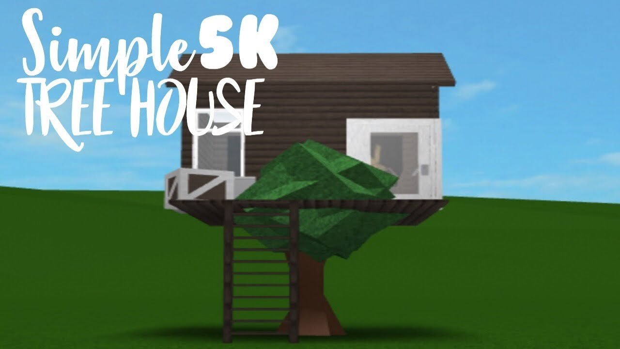 5k Treehouse Roblox Bloxburg Speed Build Youtube