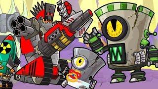Tower Conquest взлом - игра как мультик - для детей - td - Flavios #49