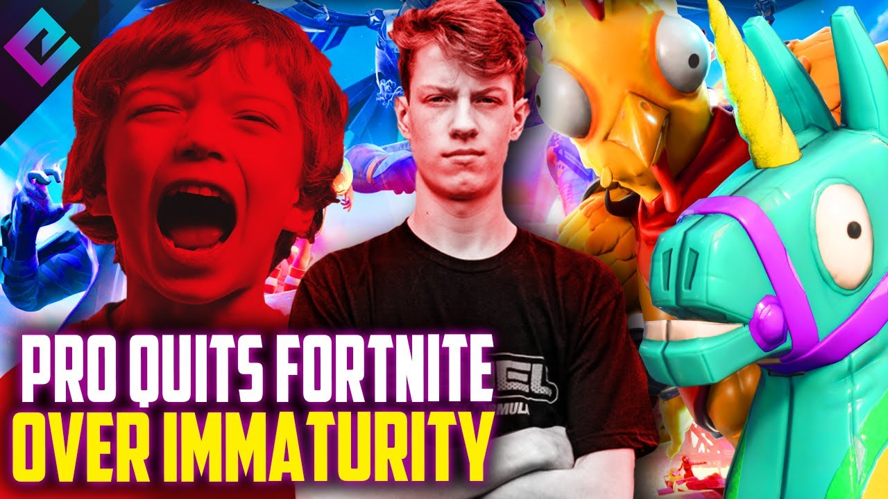 Fortnite Pro Quits Because Of Immaturity, Toxicity, and Casual Game