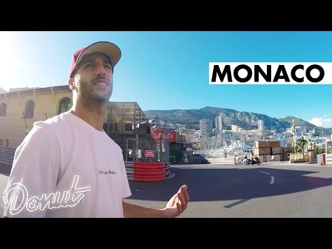 Tour of Monaco with F1 Driver Daniel Ricciardo | Donut Daze 010