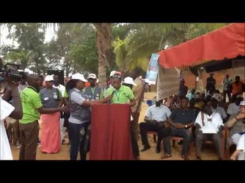 Lancement vacances citoyenne: allocution Soukhéyna Sarr CCA/Mbour