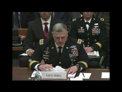 Service Chiefs Testify on Effects of Continuing Resolution, Part 1