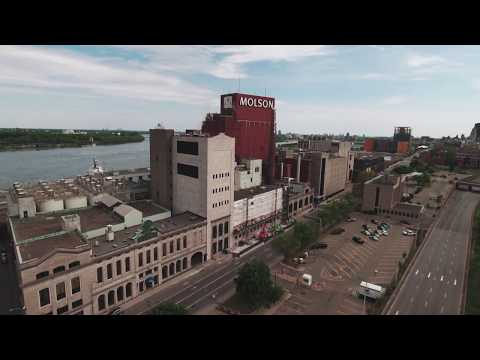 Drone Fly Over of Montreal