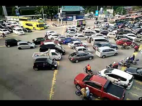 Malaysians Driver during Traffic Congestion