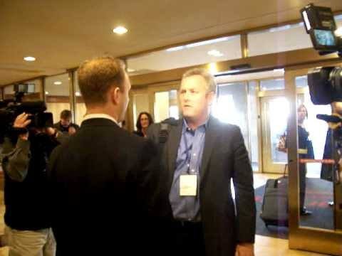 Max Blumenthal confronted by Andrew Breitbart and Larry O