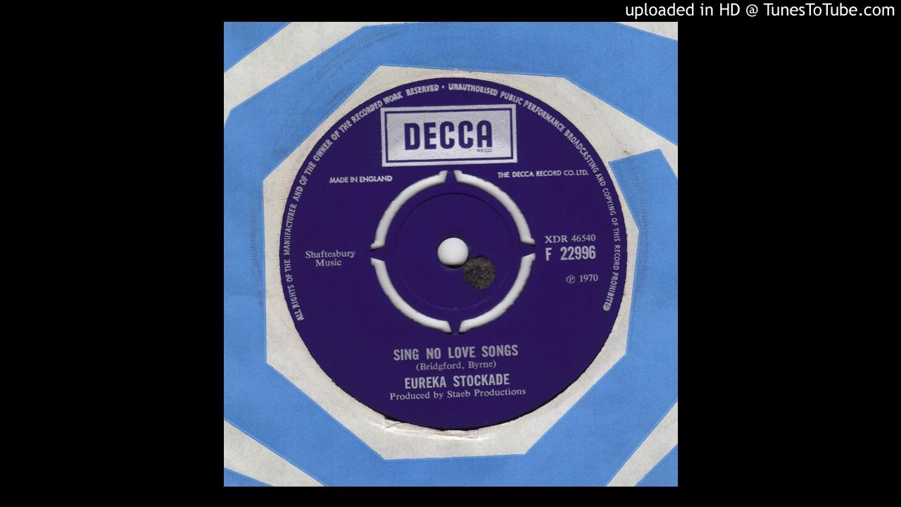 Eureka Stockade   Sing No Love Songs