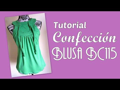 BC115 Instrucciones de Confección