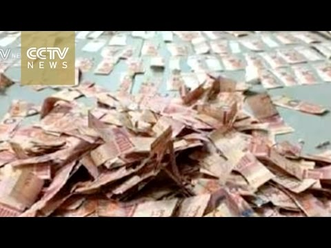 Download Youtube: Couple piece together thousands in shredded banknotes