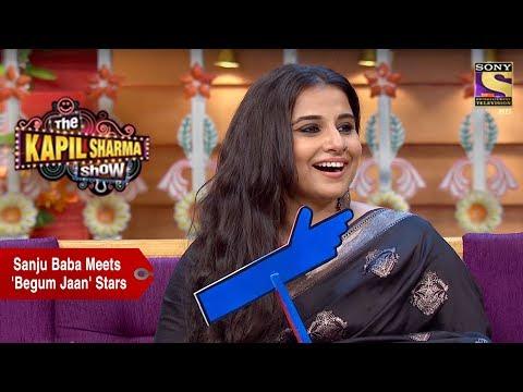 Sanju Baba Meets 'Begum Jaan' Stars - The Kapil Sharma Show