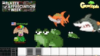 [PAW 6] Pet Frog, Sand Shark, Megalodon, Riding Turtle /FC!   Growtopia