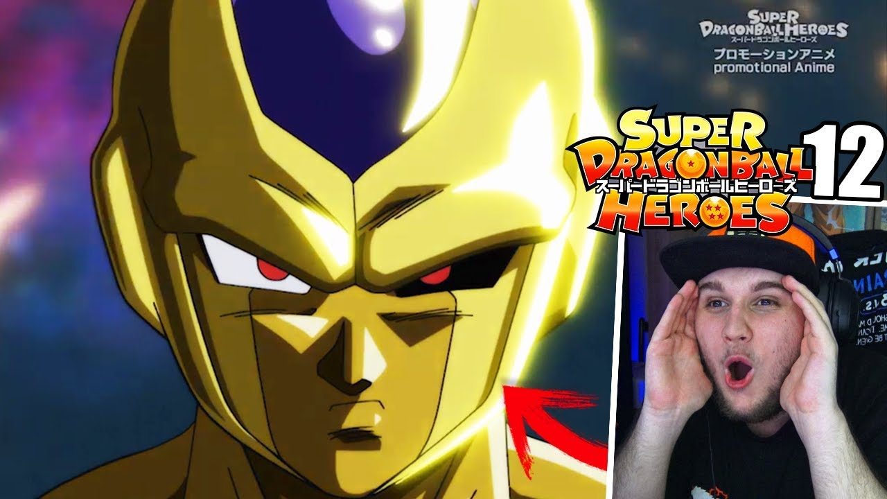 Super Dragon Ball Heroes Capitulo 12 Completo Reaccion Golden