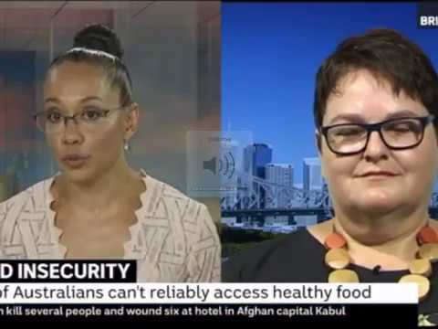 Hunger & Poverty in Australia - Dr Carol Richards interview on ABC News, 21 Jan 2018