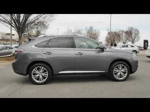 Johnson Lexus Of Raleigh Nc >> 2014 Lexus RX 350 for sale in Raleigh NC - YouTube