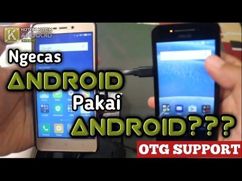 Cara Jadikan HP Android Sebagai PowerBank Untuk Ngecas Hp Lain