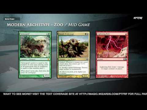 Pro Tour Fate Reforged Modern Deck Guide: Zoo with Pat Cox