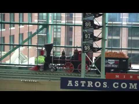 Brian McCann Home Run - Houston Astros Minute Maid Park