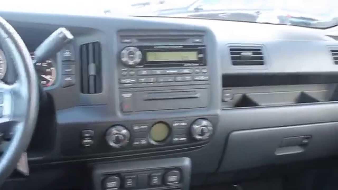 2010 Honda Ridgeline, Red/Red - STOCK# B2915 - Interior - YouTube