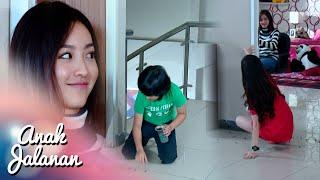 Adriana Kena Jebakan Kelereng Didepan Kamar Reva [Anak Jalanan] [13 April 2016]