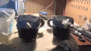 Сборка поршневого компрессора и проверка