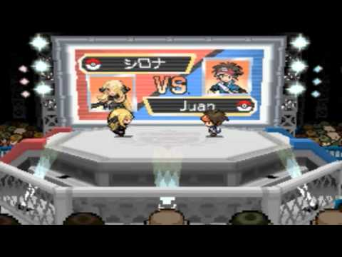 Pokemon Black 2 & White 2: Champion League