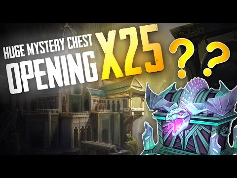 Vainglory - Chest Opening: HUGE 25X MYSTERY CHEST OPENING!