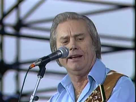 George Jones - The Race Is On (Live at Farm Aid 1985)