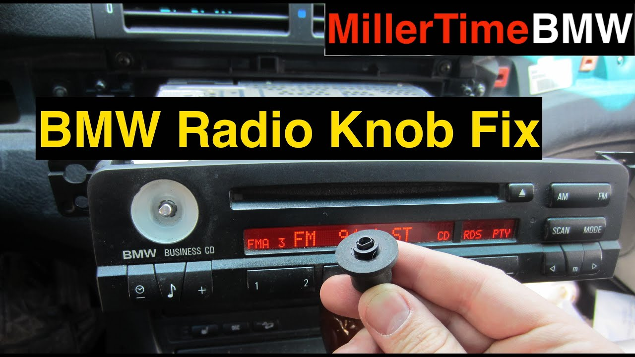 Bmw E46 Radio Knob Repair Season 2 Episode 4 Youtube