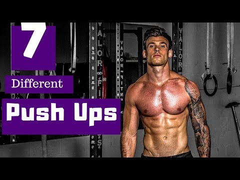 7 Different Push Up Variations