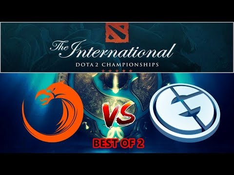 dota 2 live eg vs tnc the international 2017 group stage