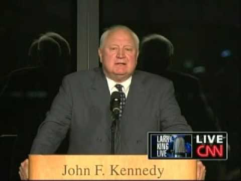 Edward Kennedy Memorial Service - John Culver (Part 2)