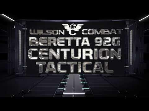 Beretta/Wilson Combat 92G Centurion Tactical Overview