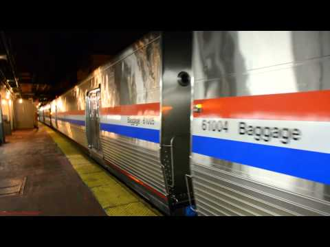 Viewliner II Baggage Cars on Amtrak Silver Meteor [98] @ NYP