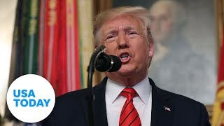 Gambar cover President Trump makes announcement on Islamic State | USA TODAY
