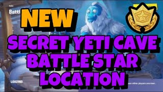 Hidden Battle Star In Secret Yeti Cave Fortnite Season 7 Week 5 Challenges