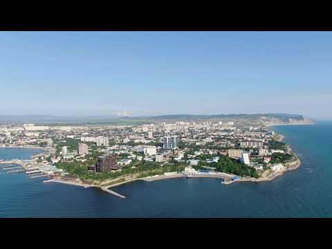 Анапа 2019 с высоты 350 м. 4К - ВИДЕО СУПЕР!! Черное Море!