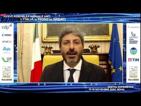 Intervento del Presidente Fico all'Assemblea ANCI