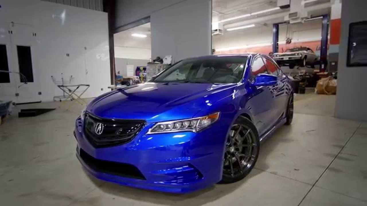 Galpin Auto Sports Acura Tlx Build Youtube