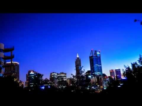 Stars over Perth City - HD