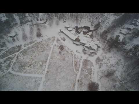 First Flight in Snow at Aldo Leopold Nature Center & Edna Conservation Park
