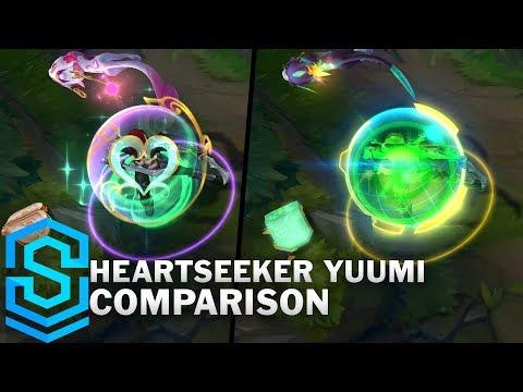 Heartseeker Yuumi VS All Previous Skins | Skin Comparison
