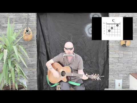 wagon wheel darius rucker easy guitar lesson youtube. Black Bedroom Furniture Sets. Home Design Ideas