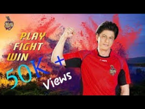 TKR ANTHEM 2018. SRK CHAMPION DJ BRAVO