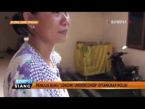 """Istri Penulis """"Jokowi Undercover"""" Pasrah"""